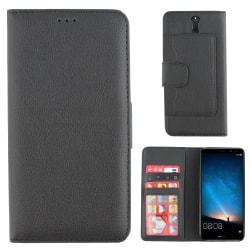 Colorfone Huawei Mate 10 LITE Plånboksfodral (SVART) Svart