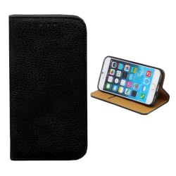 Colorfone iPhone SE 2020/8/7 Plånboksfodral (1 Fack) (SVART) Svart