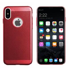 Colorfone iPhone X/Xs Skal Med Hål (Röd) Röd