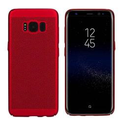 Colorfone Samsung Galaxy J7 2016 Skal Med Hål (Röd) Röd