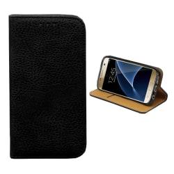 Colorfone Samsung Galaxy S6 Edge+ PLUS Plånboksfodral (SVART) Black