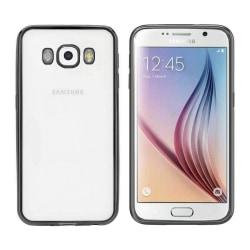 Colorfone Samsung J5 2016 Skal Bumper Clear (Svart) Svart