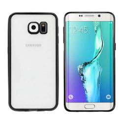 Colorfone Samsung S6 Edge Skal Bumper Clear (Svart) Svart
