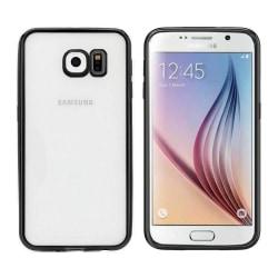 Colorfone Samsung S6 Skal Bumper Clear (Svart) Svart