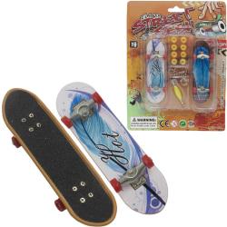 Fingerboard / Finger Skateboard Med Reservdelar (2-Pack) multifärg