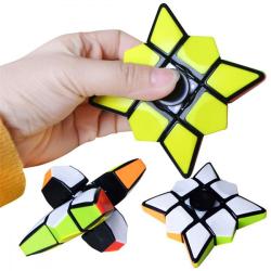 Magic Cube Spinner (Fidget Spinner + Magic Cube) multifärg