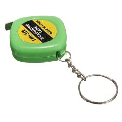 Nyckelring / Nyckelknippa Med Måttband (Grön) Grön one size