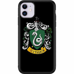 Apple iPhone 11 Soft Case (Svart) Harry Potter - Slytherin