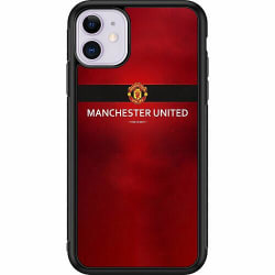 Apple iPhone 11 Soft Case (Svart) Manchester United