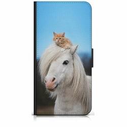 Apple iPhone XR Plånboksfodral Häst & Katt