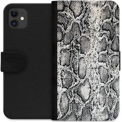 Apple iPhone 11 Wallet Case Snake on Grey