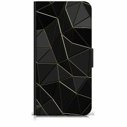 Huawei P40 Lite Plånboksfodral Svart