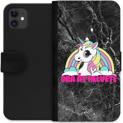 Apple iPhone 11 Wallet Case Unicorn - Dra Åt @!#