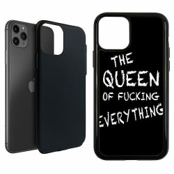 Apple iPhone 11 Pro Max Duo Case Svart Queen