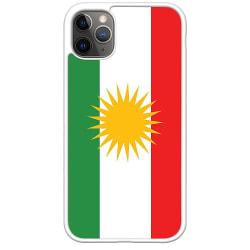 Apple iPhone 11 Pro Max Soft Case (Vit) Kurdistan