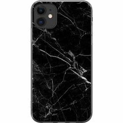 Apple iPhone 11 Thin Case black marble