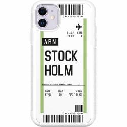 Apple iPhone 11 Soft Case (Vit) BOARDING PASS - ARN