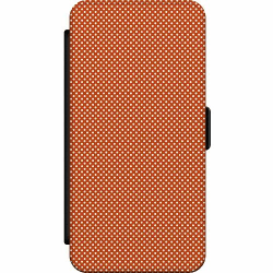Huawei P20 Wallet Slim Case Orange Droplets