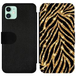 Apple iPhone 11 Wallet Slim Case Gold & Glitter