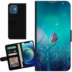 Apple iPhone 12 Billigt Fodral Magical Butterfly