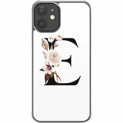 Apple iPhone 12 Hard Case (Transparent) Bokstäver