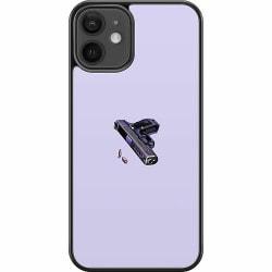 Apple iPhone 12 mini Hard Case (Svart) Gun