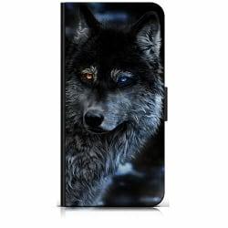 Samsung Galaxy Xcover 3 Plånboksfodral Wolf / Varg