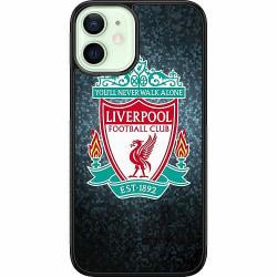 Apple iPhone 12 mini Soft Case (Svart) Liverpool Football Club