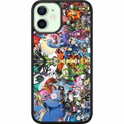 Apple iPhone 12 mini Soft Case (Svart) Pokemon
