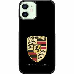Apple iPhone 12 mini Soft Case (Svart) PORSCHE