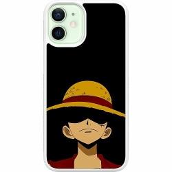 Apple iPhone 12 mini Soft Case (Vit) Anime