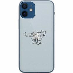 Apple iPhone 12 mini Thin Case Pretty Tiger