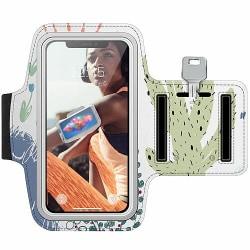 Nokia 7 Plus Träningsarmband / Sportarmband -  Cactus Or Cacti