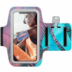 Sony Xperia X Träningsarmband / Sportarmband -  Coral Blue Hues