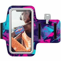 Sony Xperia XZ2 Träningsarmband / Sportarmband -  Retro x100