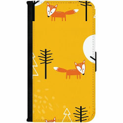 OnePlus Nord Wallet Case Happy Little Forest Foxes