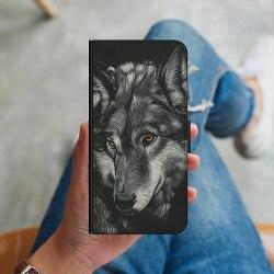 Apple iPhone 7 Plus Plånboksskal Wolf / Varg