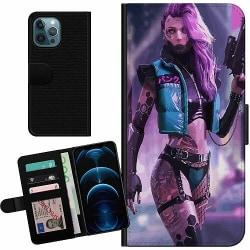 Apple iPhone 12 Pro Billigt Fodral Cyberpunk 2077