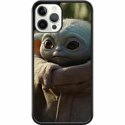 Apple iPhone 12 Pro Hard Case (Svart) Baby Yoda