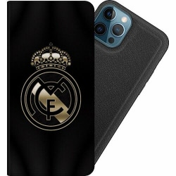 Apple iPhone 12 Pro Magnetic Wallet Case Real Madrid CF