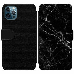 Apple iPhone 12 Pro Max Wallet Slim Case Marmor