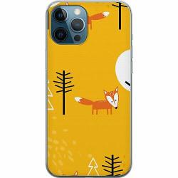 Apple iPhone 12 Pro Mjukt skal - Happy Little Forest Foxes
