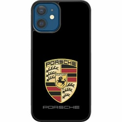 Apple iPhone 12 Soft Case (Svart) PORSCHE