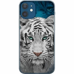 Apple iPhone 12 Mjukt skal - Be Wary Of The White Tiger