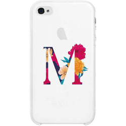 Apple iPhone 4 / 4s Firm Case Bokstaven - M