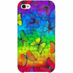 Apple iPhone 4 / 4s Thin Case Flying Rainbow Is Free