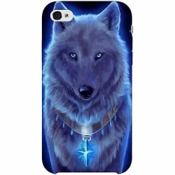 Apple iPhone 4 / 4s Thin Case Lunar Presence Wolf