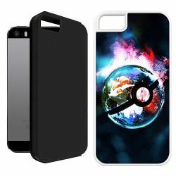 Apple iPhone 5 / 5s / SE Duo Case Vit Pokemon