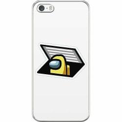 Apple iPhone 5 / 5s / SE Hard Case (Transparent) Among Us