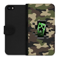 Apple iPhone 5 / 5s / SE Wallet Case Minecraft